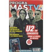 Click here for more info about 'U2 - Progra Mas TV'