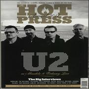 Click here for more info about 'U2 - Quantity of 3 Hot Press Publications'