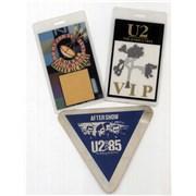 U2 Quantity of Three Tour Passes USA tour pass Promo
