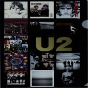 U2 Screenprinted File Holder UK memorabilia Promo