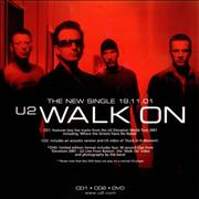 Click here for more info about 'U2 - Set Of Two Instore Display Flats - Walk On'