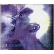 U2 Staring At The Sun UK CD single