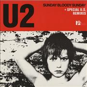 Click here for more info about 'U2 - Sunday Bloody Sunday - Original issue'