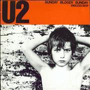 Click here for more info about 'U2 - Sunday Bloody Sunday - Paper labels'