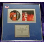 U2 The Fly UK award disc
