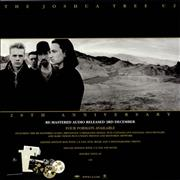 Click here for more info about 'U2 - The Joshua Tree 20th Anniversary - Display Flat'