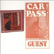 Click here for more info about 'U2 - The Longest Day - Guest Pass & Parking Permit'