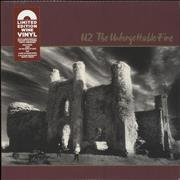 Click here for more info about 'U2 - The Unforgettable Fire - 180gram Wine Vinyl - Sealed'