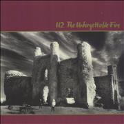 Click here for more info about 'U2 - The Unforgettable Fire - 180gram Wine Vinyl'