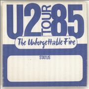 Click here for more info about 'U2 - The Unforgettable Fire - Blue'