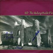 Click here for more info about 'U2 - The Unforgettable Fire - Fully Autographed!'