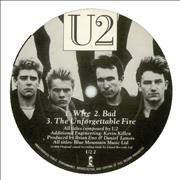 Click here for more info about 'U2 - The Unforgettable Fire Sampler'