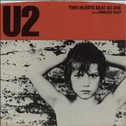 Click here for more info about 'U2 - Two Hearts Beat As One - 'AR' Allied Press'