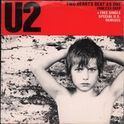 Click here for more info about 'U2 - Two Hearts Beat As One - Double Pack'