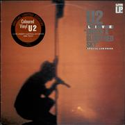 Click here for more info about 'U2 - Under A Blood Red Sky - Red Vinyl'