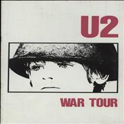Click here for more info about 'U2 - War Tour - Spring '83'