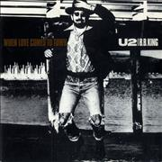 Click here for more info about 'U2 - When Love Comes To Town - Injection label'