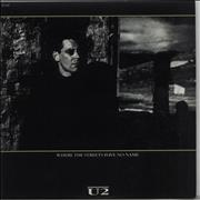Click here for more info about 'U2 - Where The Streets Have No Name - Inj'