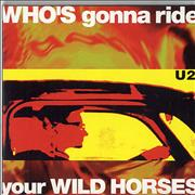 Click here for more info about 'U2 - Who's Gonna Ride Your Wild Horses - CD1 & 2 + Postcards'