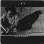 Click here for more info about 'U2 - With Or Without You - Label varient'