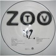 "U2 Zoo Station USA 12"" picture disc Promo"