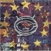 U2 Zooropa - Price Stickered & in Shrink UK vinyl LP