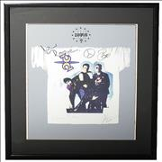 Click here for more info about 'Zooropa '93 - Autographed print'