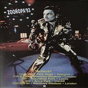 Click here for more info about 'Zooropa '93'