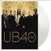 Click here for more info about 'UB40 - Collected - 180 Gram Clear Vinyl - Numbered'