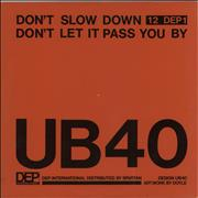 Click here for more info about 'UB40 - Don't Let It Pass You By'