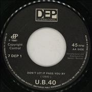 Click here for more info about 'UB40 - Don't Slow Down - Jukebox'