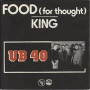 Click here for more info about 'UB40 - Food For Thought'