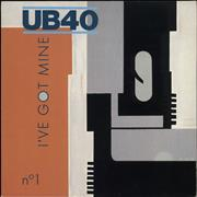 Click here for more info about 'UB40 - I've Got Mine'
