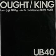 Click here for more info about 'UB40 - King - 2nd - Glossy P/S'