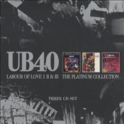 Click here for more info about 'UB40 - Labour Of Love I II & III: The Platinum Collection'