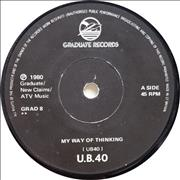 Click here for more info about 'UB40 - My Way Of Thinking'