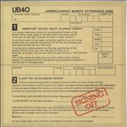 Click here for more info about 'UB40 - Signing Off + 12