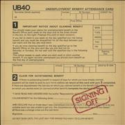 Click here for more info about 'UB40 - Signing Off + Bonus 12
