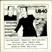 Click here for more info about 'UB40 - UB40 Live'
