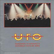 Click here for more info about 'UFO - Making Contact World Tour 1983 + Poster'
