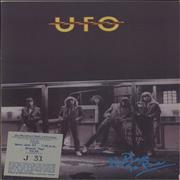 Click here for more info about 'UFO - No Place To Run + Ticket Stub'