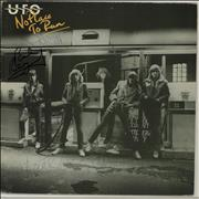 Click here for more info about 'UFO - No Place To Run - Autographed'