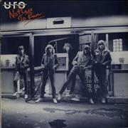Click here for more info about 'UFO - No Place To Run - Red Titles'