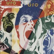 Click here for more info about 'UFO - Strangers In The Night - Clear Vinyl - Sealed'