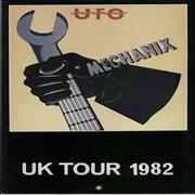 Click here for more info about 'UFO - UK Tour 1982 - Fully Autographed'