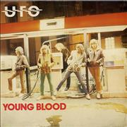 Click here for more info about 'UFO - Young Blood - Black Vinyl'