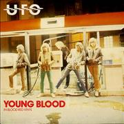 Click here for more info about 'UFO - Young Blood - Red + P/S - EX'