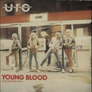 Click here for more info about 'UFO - Young Blood - Red + P/S'