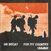 Click here for more info about 'UK Decay - For My Country'