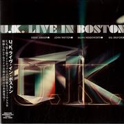 Click here for more info about 'U.K. - Live In Boston'
